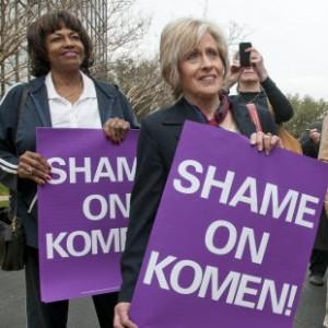 Shame on Komen